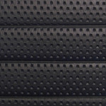 Fluted: Perforated Black 1.25