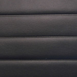 Fluted: Plain Black 1.25