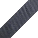 01: Cotton Webbing - Black 1