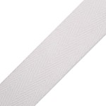 02: Cotton Webbing - White 1
