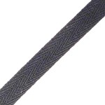 04: Cotton Webbing - Black 0.5